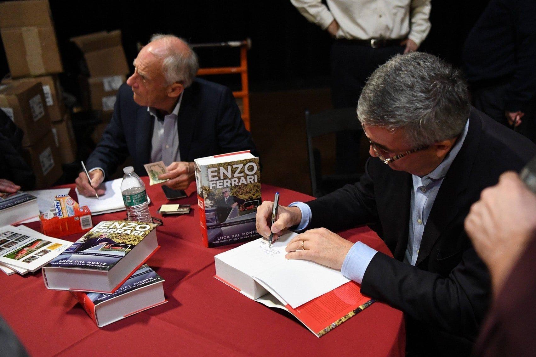 Luca Dal Monte Book Signing