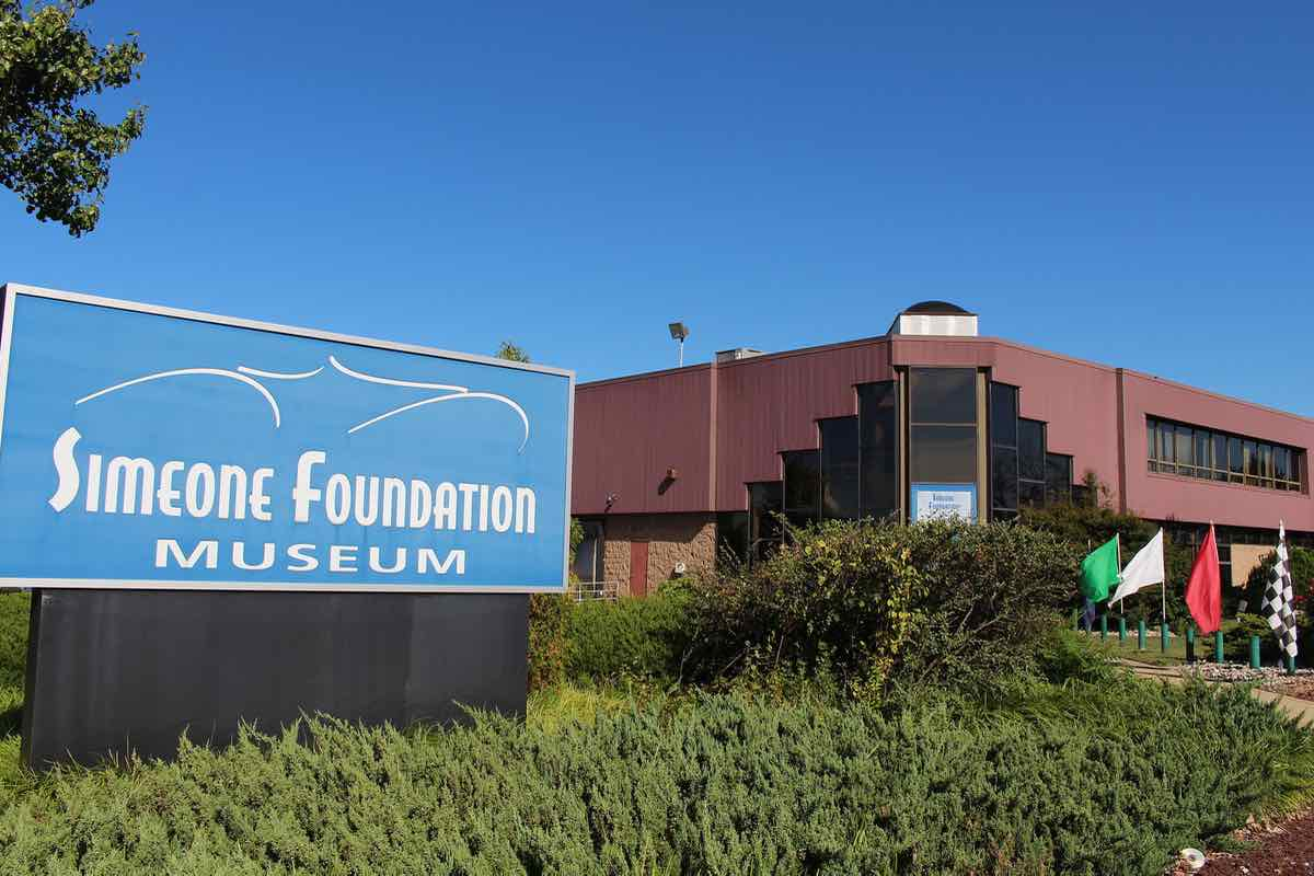 Simeone Foundation Automotive Museum Philadelphia building 1