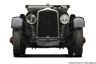 1927 stutz aa 4 passenger speedster blackhawk front