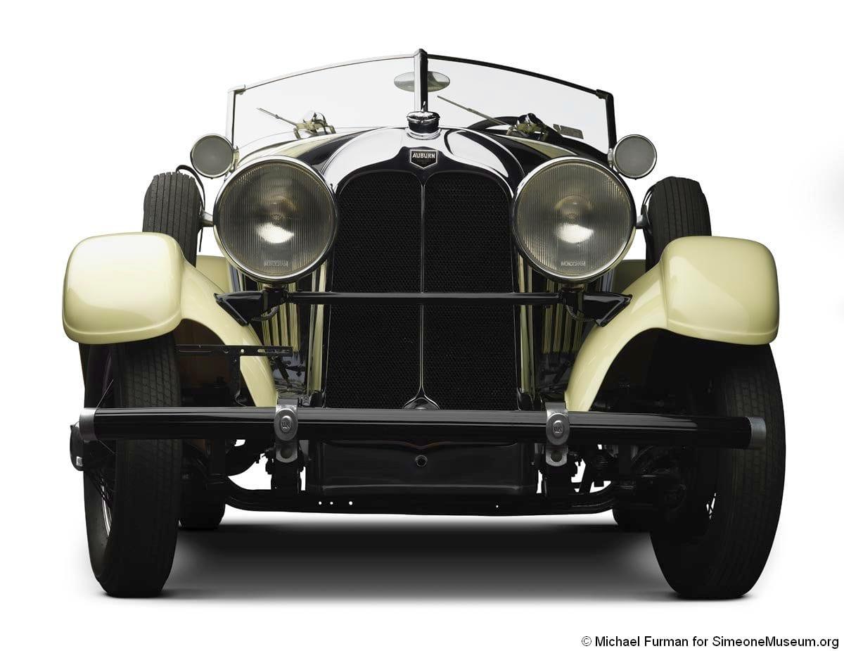 1928 auburn 8 88 front