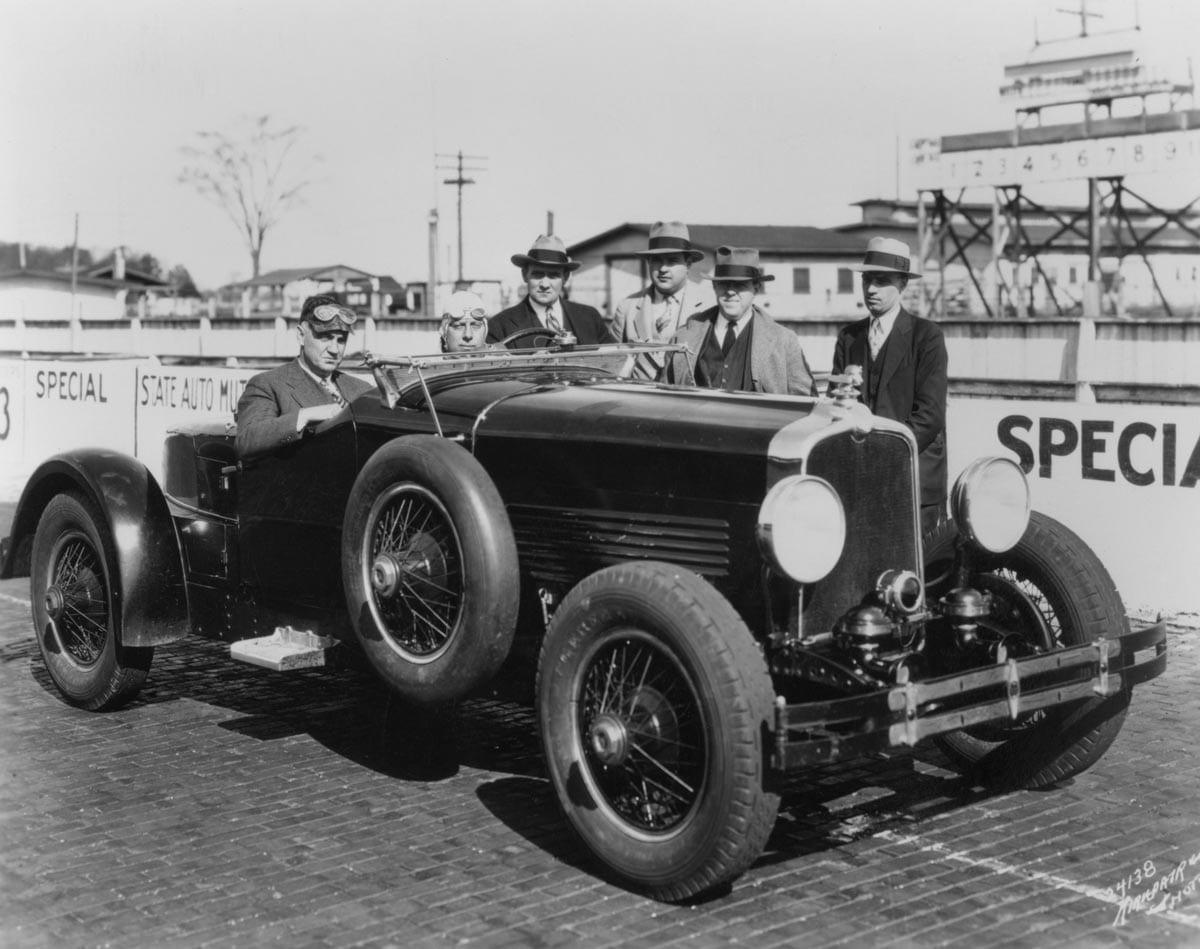 1928 stutz black hawk d historic