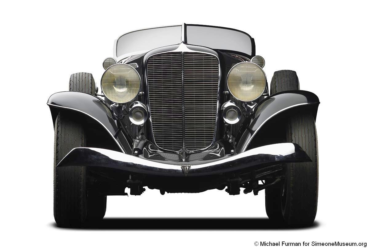 1933 auburn 12 165 speedster front