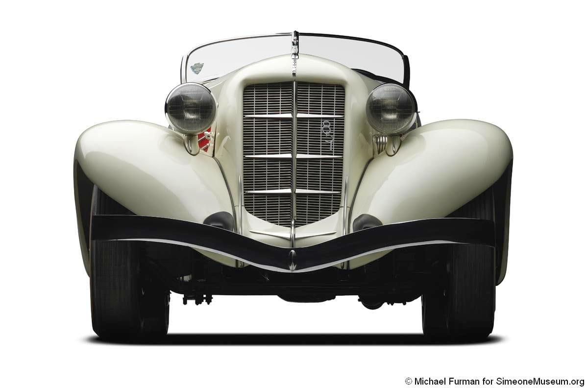 1935 auburn 851 speedster front