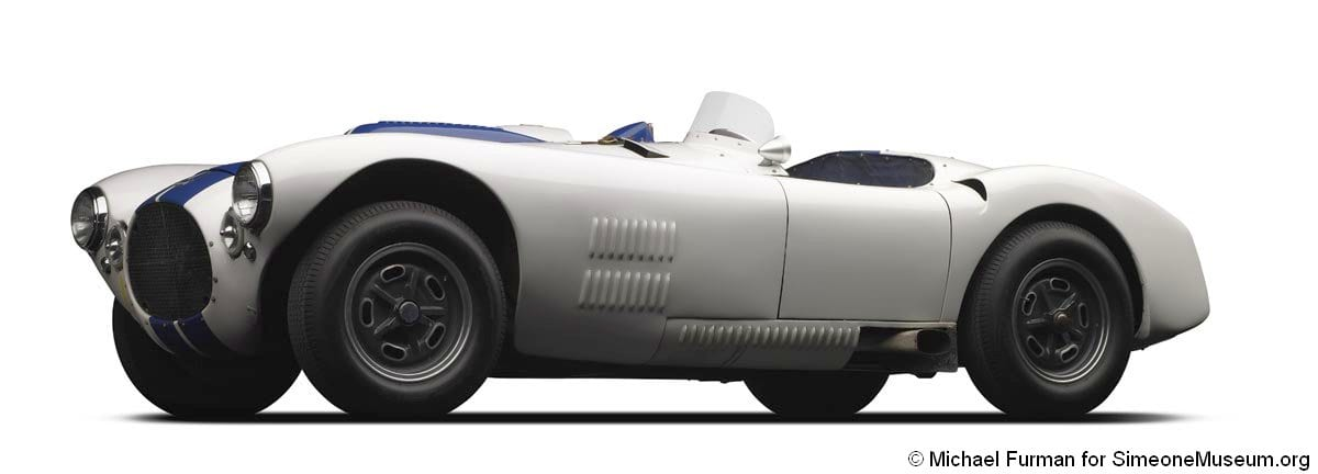 1952 Cunningham C-4R Roadster | Simeone Foundation Automotive Museum