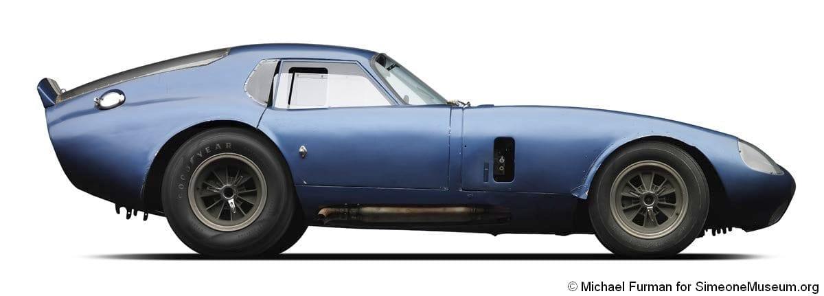 Shelby Daytona Coupe >> 1964 Shelby Cobra Daytona Coupe Simeone Foundation