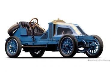 1907 Renault 35 45 Vanderbilt Racer