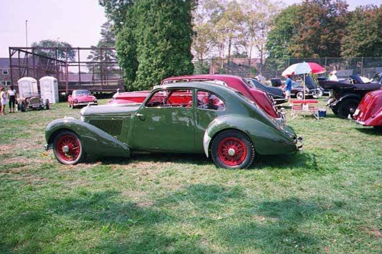 1938 Bentley 4.25 Litre Coupe