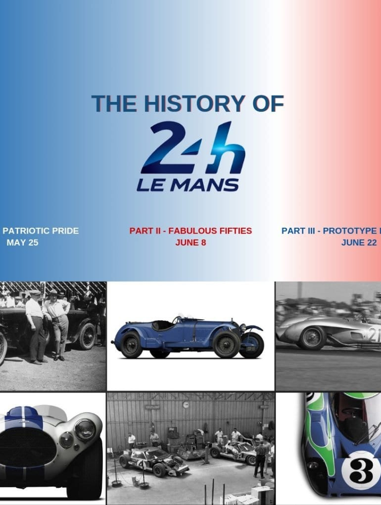 History of Le Mans Header