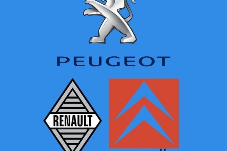 Peugeot Renault Citroen Square