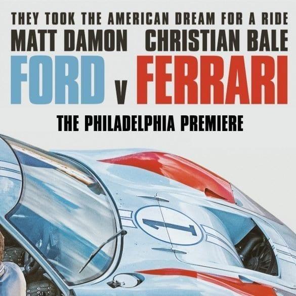 Ford v Ferrari Philadelphia Premiere
