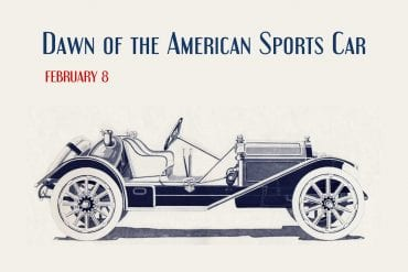 Dawn of the American Sports Car Header 1